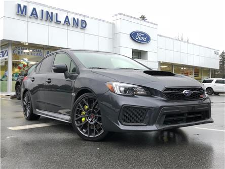 2018 Subaru WRX STI Sport-tech w/Lip (Stk: 9F14572B) in Vancouver - Image 1 of 29