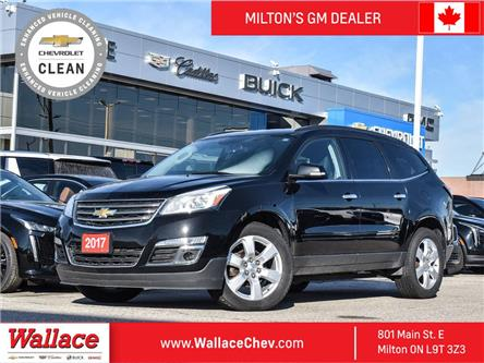 2017 Chevrolet Traverse AWD LT, Htd Seats, HD Trailer PKG, No Accidents (Stk: 020520A) in Milton - Image 1 of 22
