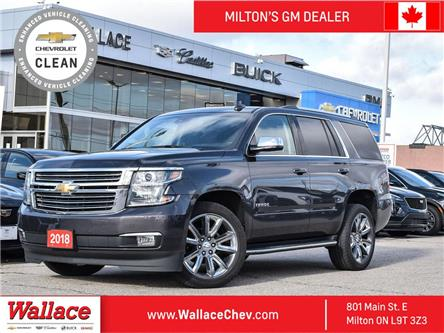 2018 Chevrolet Tahoe 4WD Premier, NAV, ROOF, DVD, Cooled STS (Stk: PL5348) in Milton - Image 1 of 22
