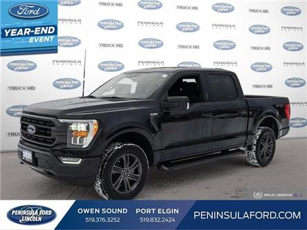 2021 Ford F-150 XLT (Stk: 21FE19) in Owen Sound - Image 1 of 23