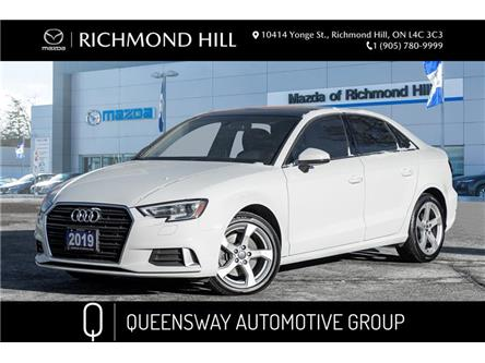 2019 Audi A3 40 Komfort (Stk: 20-310A) in Richmond Hill - Image 1 of 20