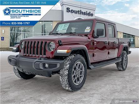 2021 Jeep Gladiator Overland (Stk: GD2107) in Red Deer - Image 1 of 25