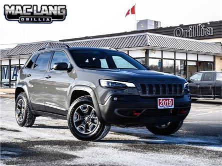 2019 Jeep Cherokee Trailhawk (Stk: 13645A) in Orillia - Image 1 of 29