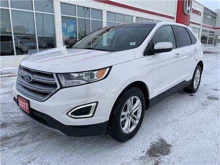 2017 Ford Edge SEL (Stk: U1205) in Fort St. John - Image 1 of 28