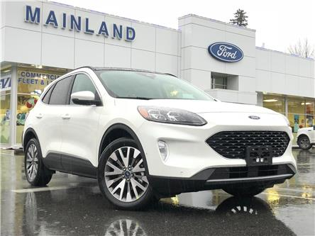 2020 Ford Escape Titanium Hybrid (Stk: 20ES8809) in Vancouver - Image 1 of 30