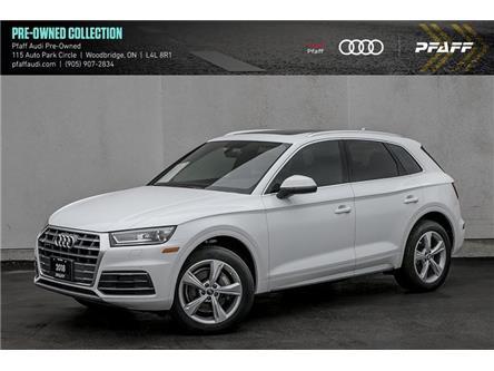 2018 Audi Q5 2.0T Progressiv (Stk: C8009) in Vaughan - Image 1 of 22