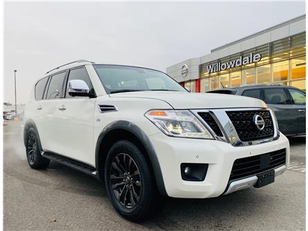 2017 Nissan Armada Platinum (Stk: H9478A) in Thornhill - Image 1 of 24