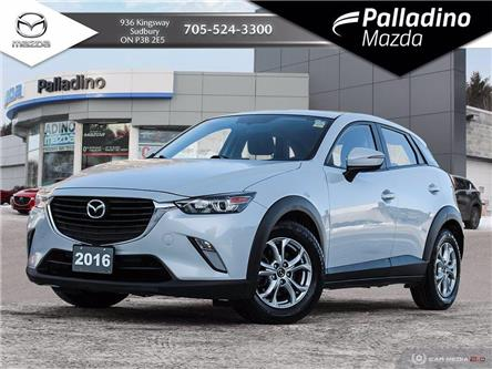 2016 Mazda CX-3 GS (Stk: 7929A) in Sudbury - Image 1 of 25