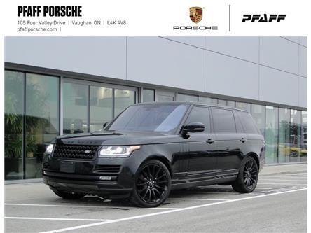 2016 Land Rover Range Rover V8 Autobiography Supercharged LWB (Stk: U9213A) in Vaughan - Image 1 of 22