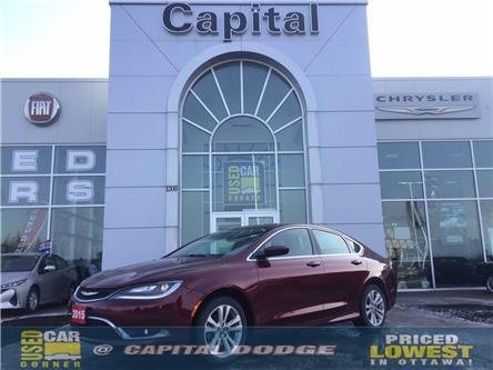 2015 Chrysler 200 Limited (Stk: L00292A) in Kanata - Image 1 of 22