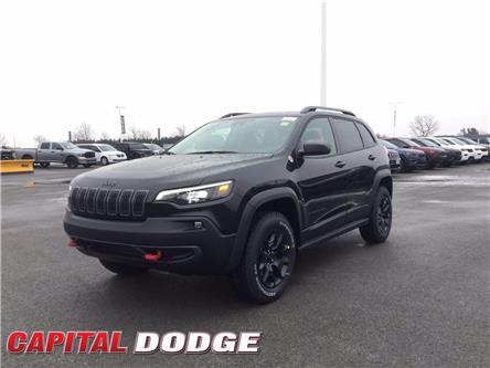 2021 Jeep Cherokee Trailhawk (Stk: M00142) in Kanata - Image 1 of 25