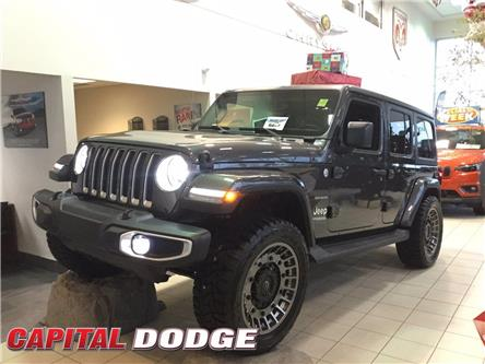 2021 Jeep Wrangler Unlimited Sahara (Stk: M00122) in Kanata - Image 1 of 17