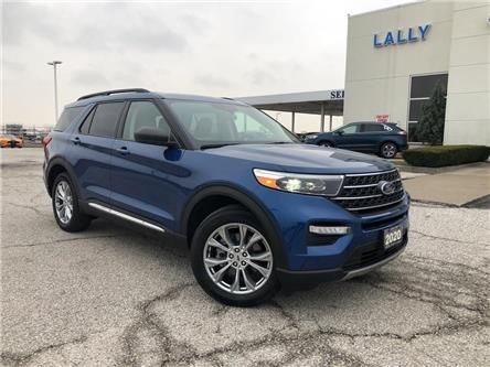 2020 Ford Explorer XLT (Stk: S10593R) in Leamington - Image 1 of 26