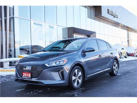 2018 Hyundai Ioniq Plug-In Hybrid Limited (Stk: N2640A) in Burlington - Image 1 of 25