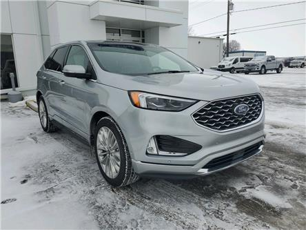 2020 Ford Edge Titanium (Stk: 21107A) in Wilkie - Image 1 of 23