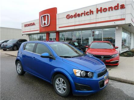 2016 Chevrolet Sonic LT Auto (Stk: U15620) in Goderich - Image 1 of 9