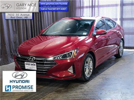 2019 Hyundai Elantra Preferred w/sun and safety pkg (Stk: HP8520) in Red Deer - Image 1 of 24