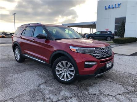 2020 Ford Explorer Limited (Stk: S10587R) in Leamington - Image 1 of 27
