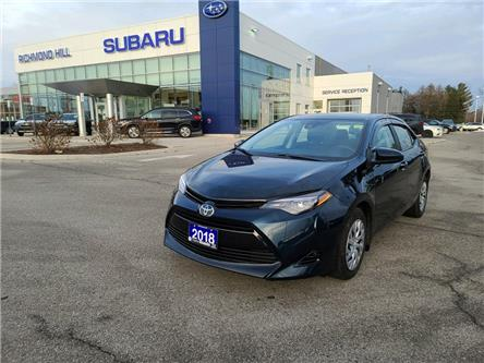 2018 Toyota Corolla CE (Stk: P03958) in RICHMOND HILL - Image 1 of 15