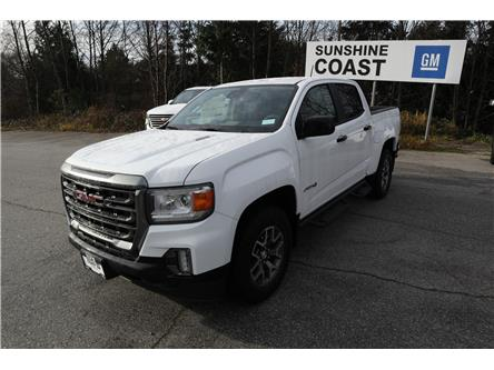 2021 GMC Canyon AT4 w/Leather (Stk: GM153596) in Sechelt - Image 1 of 18