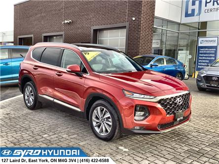 2019 Hyundai Santa Fe Luxury (Stk: H6292A) in Toronto - Image 1 of 30