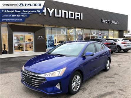 2020 Hyundai Elantra Preferred (Stk: U17) in Georgetown - Image 1 of 15