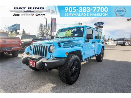 2017 Jeep Wrangler Unlimited  (Stk: 217540A) in Hamilton - Image 1 of 23