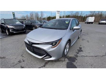 2019 Toyota Corolla Hatchback Base (Stk: U2146) in Embrun - Image 1 of 27