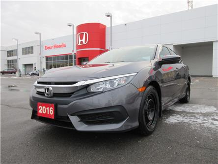 2016 Honda Civic LX (Stk: 29098A) in Ottawa - Image 1 of 17