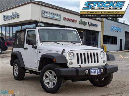 2017 Jeep Wrangler Sport (Stk: 34900) in Waterloo - Image 1 of 24