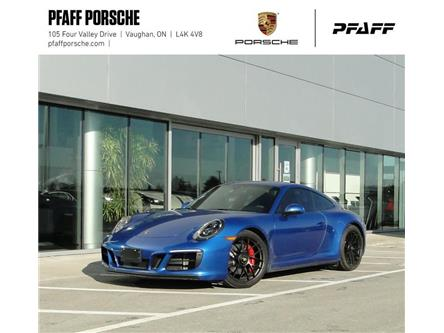 2018 Porsche 911 Carrera 4 GTS Coupe PDK (Stk: U9300) in Vaughan - Image 1 of 22