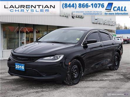 2016 Chrysler 200 LX (Stk: P0179A) in Sudbury - Image 1 of 24