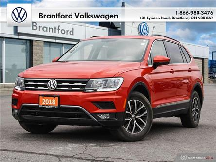 2018 Volkswagen Tiguan Comfortline (Stk: AT21890A) in Brantford - Image 1 of 27