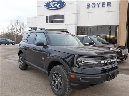 2021 Ford Bronco Sport Badlands (Stk: B3111) in Bobcaygeon - Image 1 of 26
