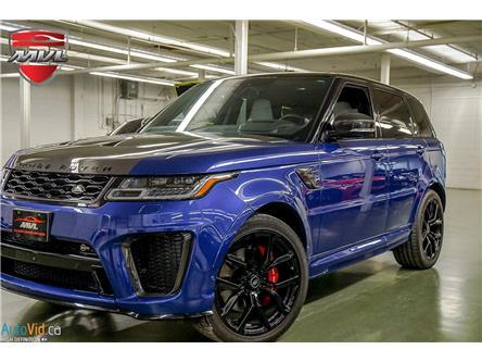 2020 Land Rover Range Rover Sport SVR (Stk: ) in Oakville - Image 1 of 32