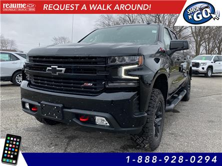 2021 Chevrolet Silverado 1500 LT Trail Boss (Stk: 21-0205) in LaSalle - Image 1 of 12