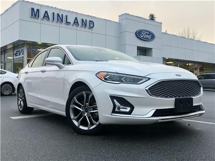 2020 Ford Fusion Hybrid Titanium (Stk: P7106) in Vancouver - Image 1 of 30