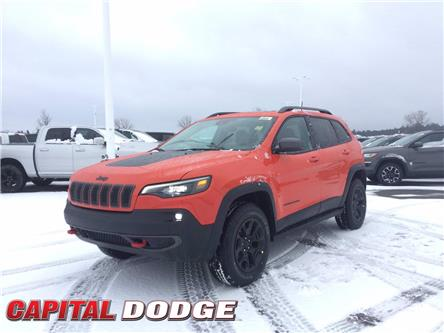 2021 Jeep Cherokee Trailhawk (Stk: M00152) in Kanata - Image 1 of 30