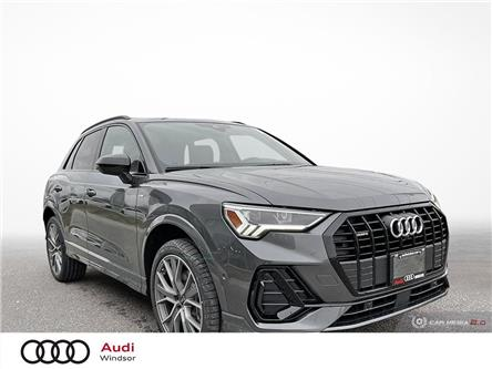2021 Audi Q3 45 Technik (Stk: 21050) in Windsor - Image 1 of 30