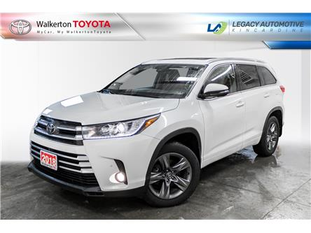 2018 Toyota Highlander Limited (Stk: 21110A) in Walkerton - Image 1 of 18