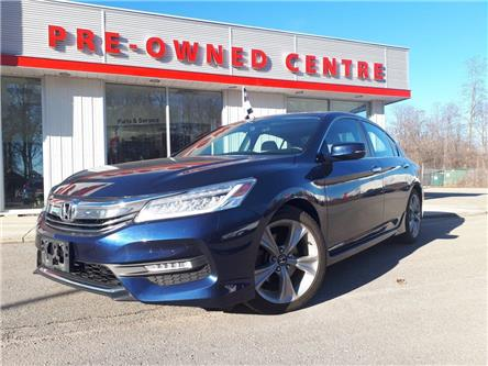 2017 Honda Accord Touring (Stk: E-2473A) in Brockville - Image 1 of 30