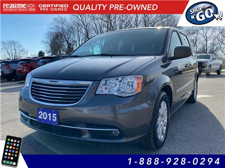 2015 Chrysler Town & Country Touring (Stk: 20-0785B) in LaSalle - Image 1 of 27