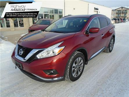 2017 Nissan Murano SV (Stk: A0320) in Steinbach - Image 1 of 33