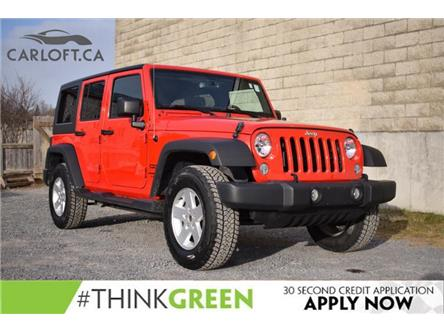 2018 Jeep Wrangler JK Unlimited Sport (Stk: B6742) in Kingston - Image 1 of 20