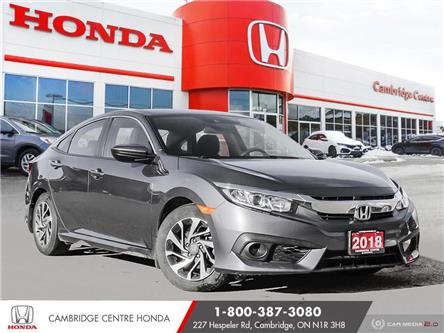 2018 Honda Civic SE (Stk: U5049) in Cambridge - Image 1 of 27