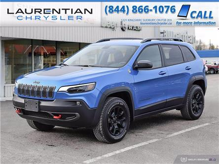 2020 Jeep Cherokee Trailhawk (Stk: 20152D) in Greater Sudbury - Image 1 of 30