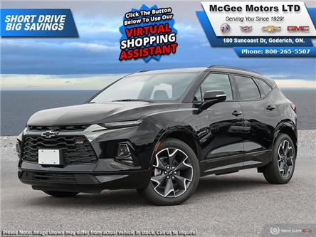 2021 Chevrolet Blazer RS (Stk: 527627) in Goderich - Image 1 of 14