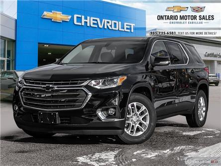 2021 Chevrolet Traverse LT Cloth (Stk: T1121356) in Oshawa - Image 1 of 18