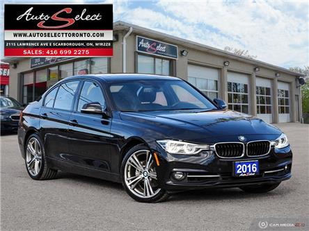 2016 BMW 328i xDrive (Stk: 16X4KA1) in Scarborough - Image 1 of 29