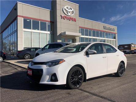 2015 Toyota Corolla  (Stk: 104120A) in Woodstock - Image 1 of 29